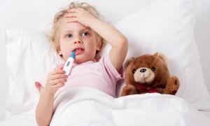 Сколько дней обычно держится температура у ребенка при ангине